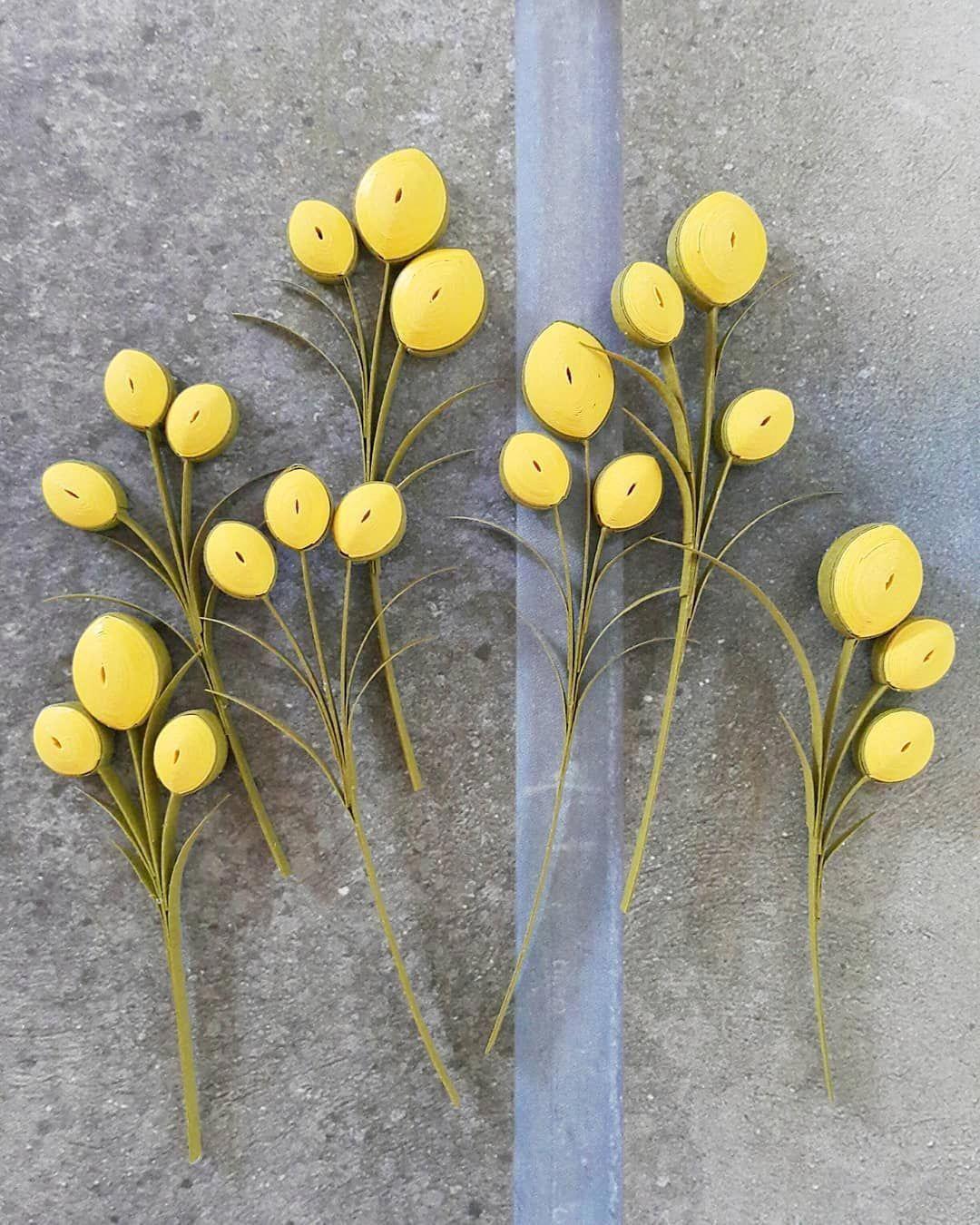 Paper Quilling Flower Simple Paperquillingflowerspattern En 2020