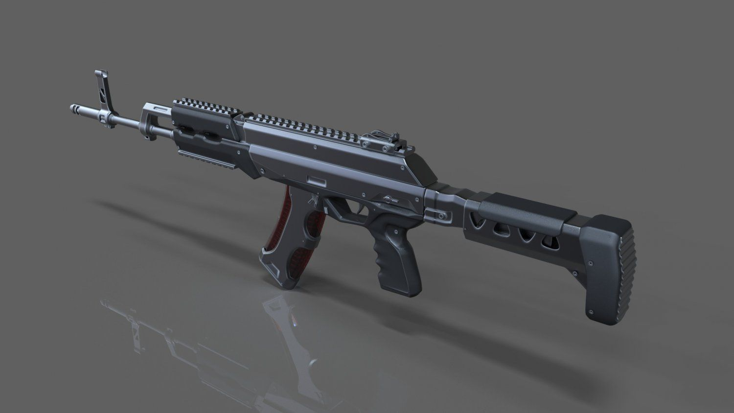 Royalty free AK 15 Concept 3D Model by setlikolus  Available