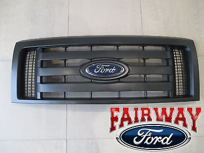 Details About 09 Thru 14 F 150 Oem Genuine Ford Parts Xl Model Black Grille Grill W Emblem New Ford Parts Ford Grilles