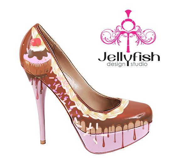 f323f2ec0e8af  629.00 Chocolate Sprinkles and Cupcake shoes. OMG WANT.   My Style ...