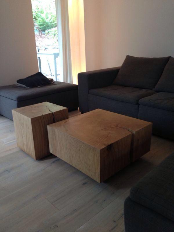 Holz Klotz Wohnzimmer Tisch | Ideen Rund Ums Haus | Pinterest