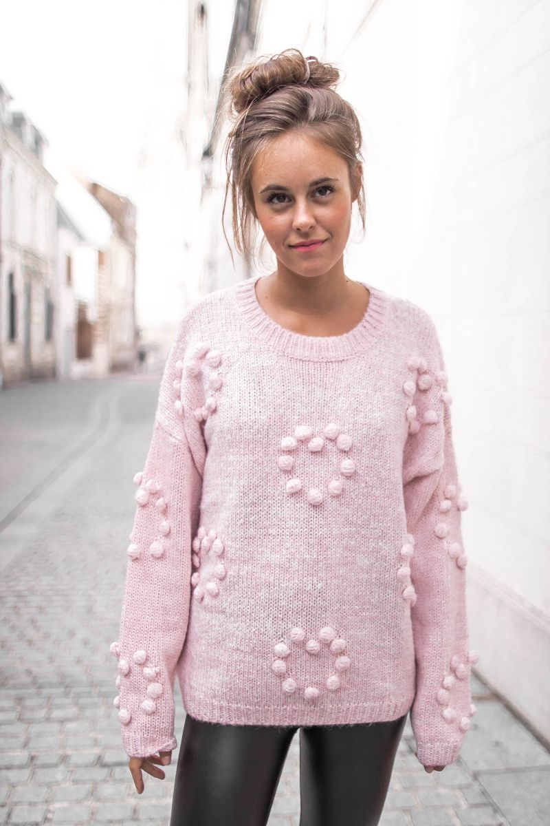 Pull FLAKE rose  pull  maille  rose  pink  dress  prettywire    Fall ... a00fdb708d6