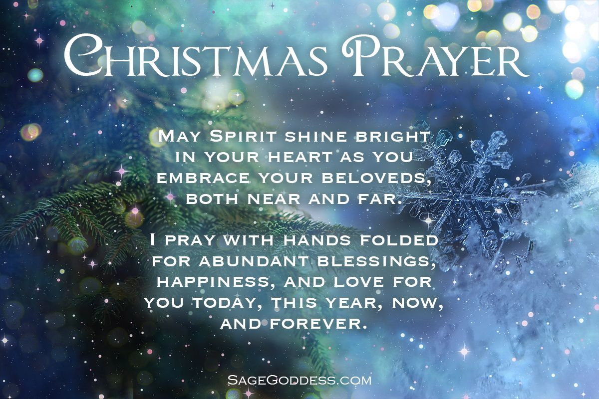 A Christmas Wish For You And Yours Christmas Prayer Blessed Mother Mary Prayers