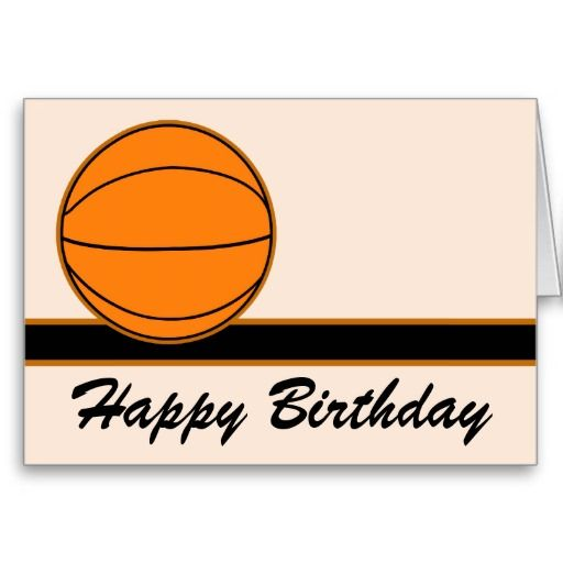 Basketball happy birthday card happy birthday cards happy basketball happy birthday card bookmarktalkfo Image collections