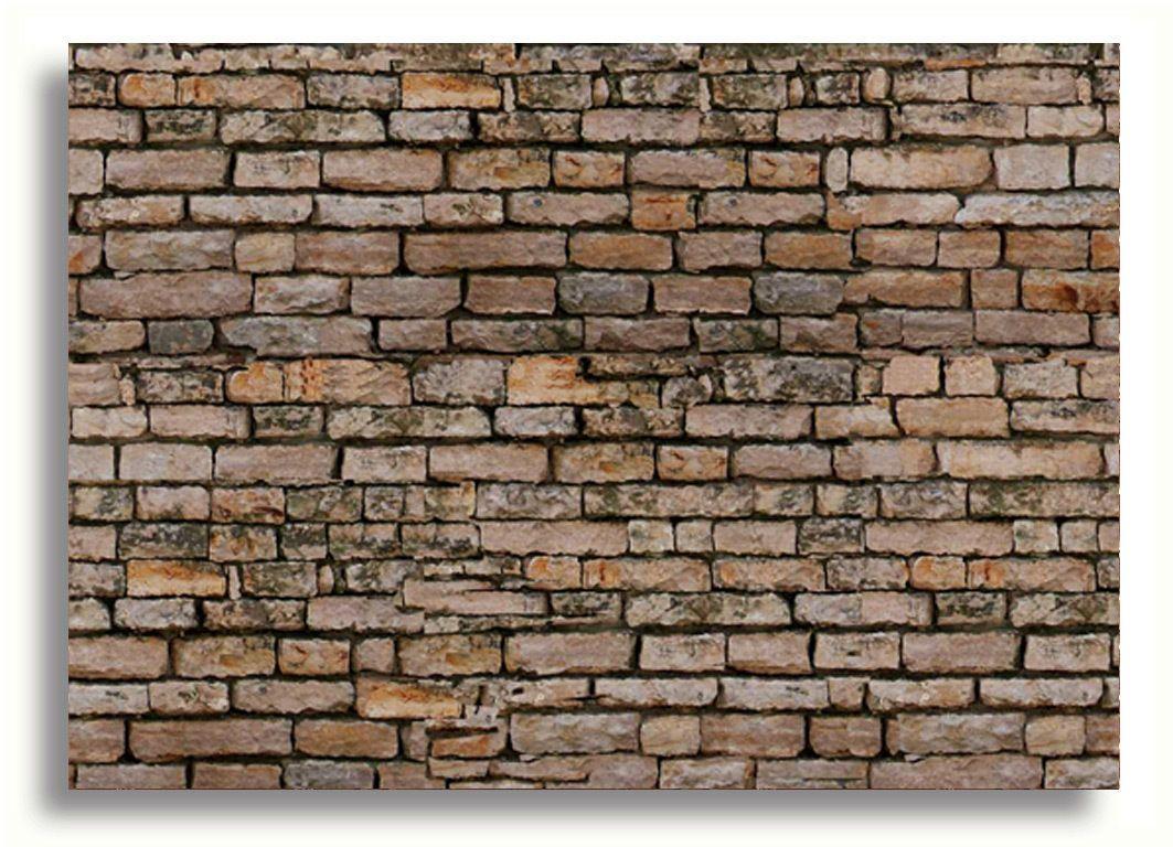 Self Adhesive Dolls House Wallpaper Victorian Brick Wall 1 12th Scale Vinyl 5060300421184 Ebay Case Delle Bambole Parete