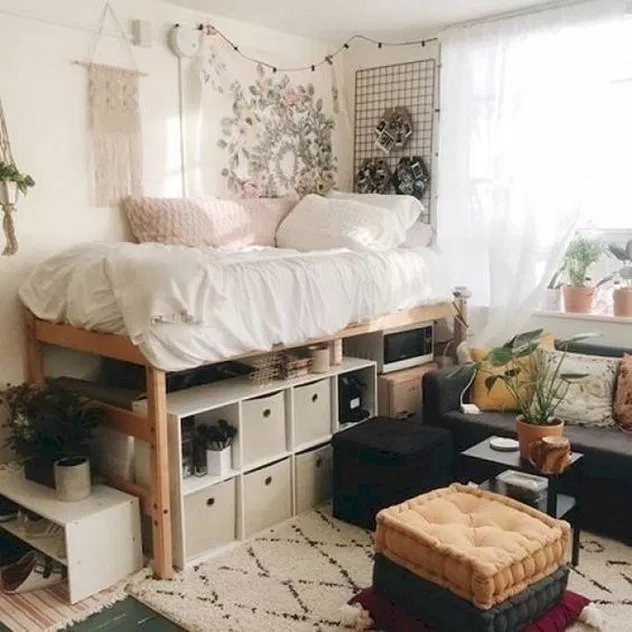 40 amazing gorgeous dorm rooms you'll want to copy 26 ~ Litledress #girldorms