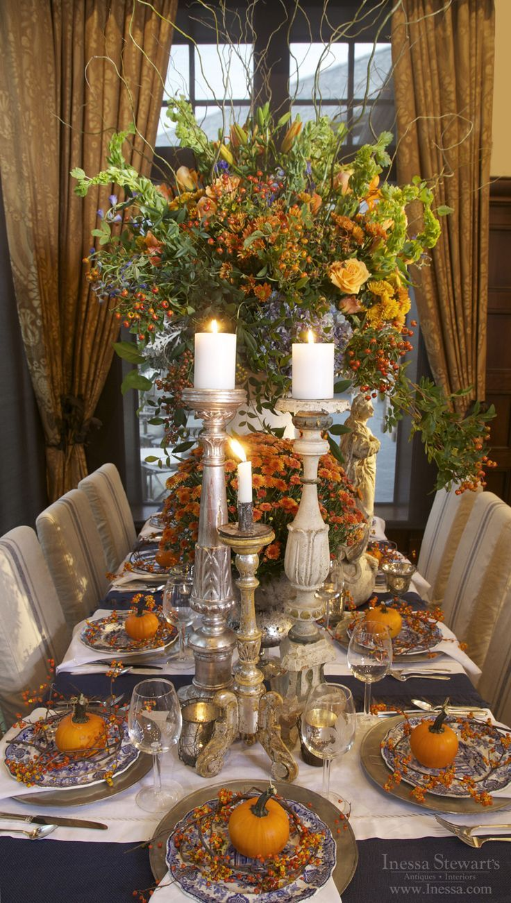 Elegant Fall Table Fall Thanksgiving Decor Amp Crafts ️