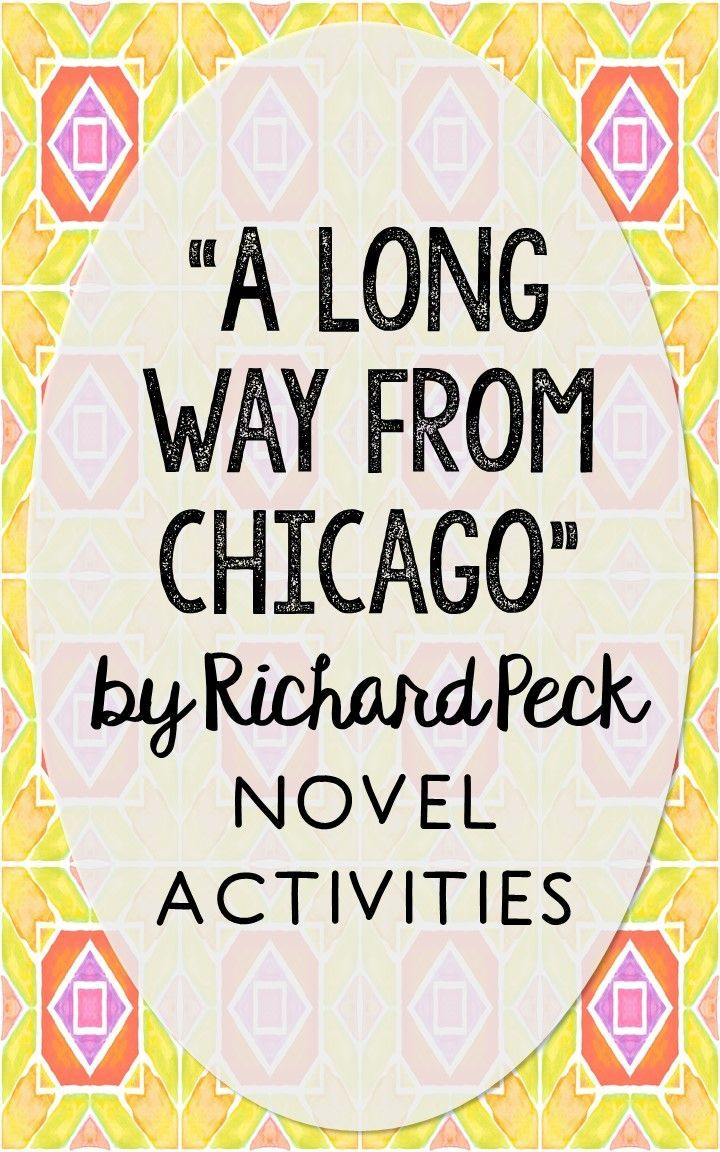 richard peck: a long way from chicago essay Richard peck quotes (showing 1-30 of 69) i read because one life isn't enough, and in the page of a book i can be anybody i read because the words that build the story become mine, to build my life.