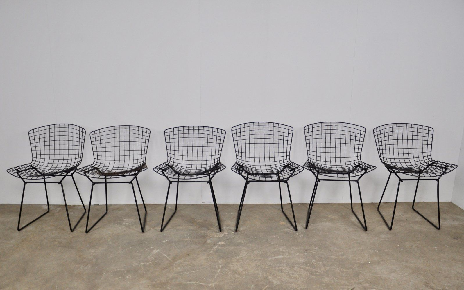 For Sale Set Of 6 Chairs By Harry Bertoia For Knoll 1960s
