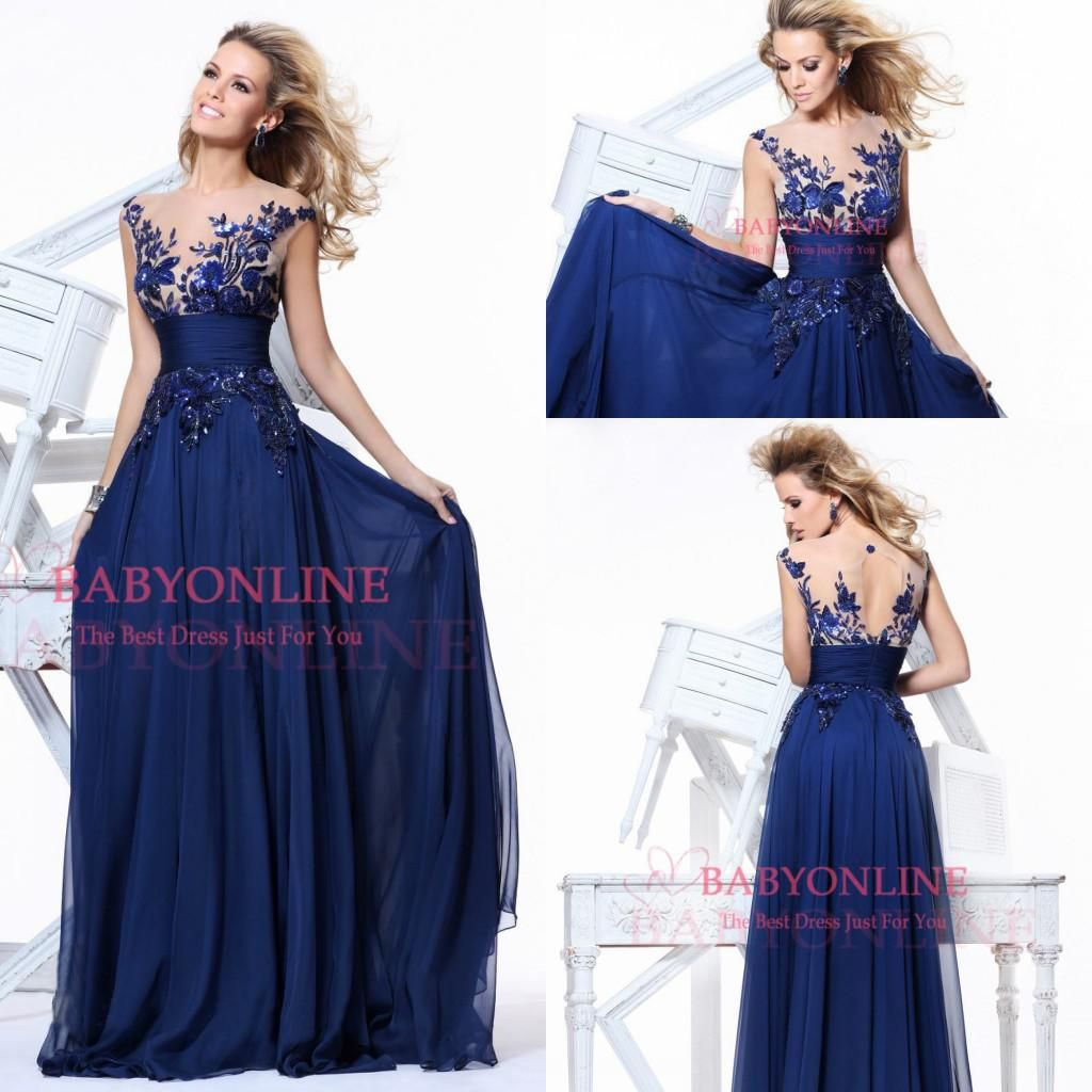 2016 royal blue cheap in stock jewel a line long bridesmaid 2016 royal blue cheap in stock jewel a line long bridesmaid dresses applique sequin backless prom ombrellifo Images