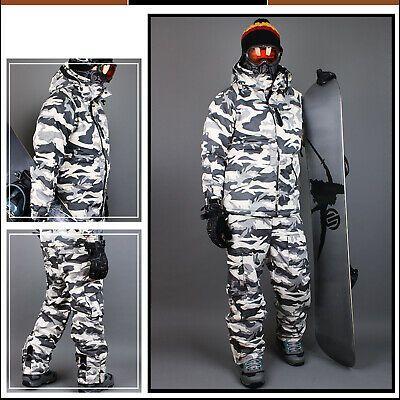 SOUTHPLAY Mens Ski SnowBoard Jacket Jumper Parka Suits Blazer Top CAMO MILITARY