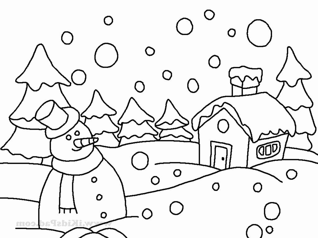 Snow Scene Coloring Page Inspirational Scene Oil Pastel Coloring Pages Print Coloring Winter Drawings Coloring Pages Winter Animal Coloring Pages