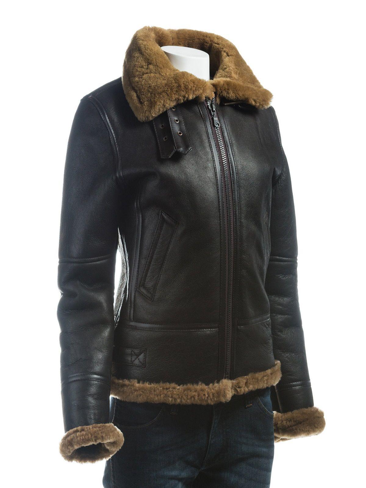 Women B3 Bomber Black Leather Jacket Women Jacket Mauvetree Leather Jackets Women Womens Black Leather Jacket Black Leather Jacket [ 1600 x 1200 Pixel ]