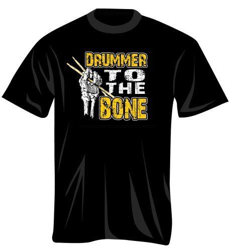 Music Treasures Co. Drummer Bone T Shirt (M) by Music Treasures Co.