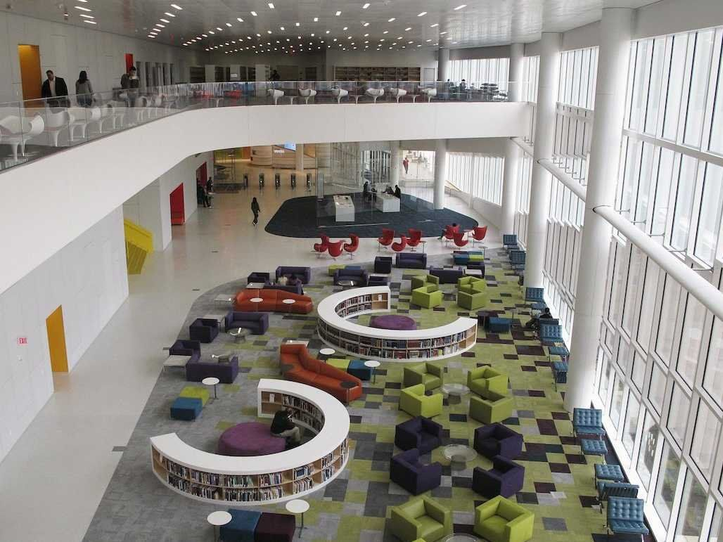 The 16 Coolest College Libraries In The Country 건축 디자인