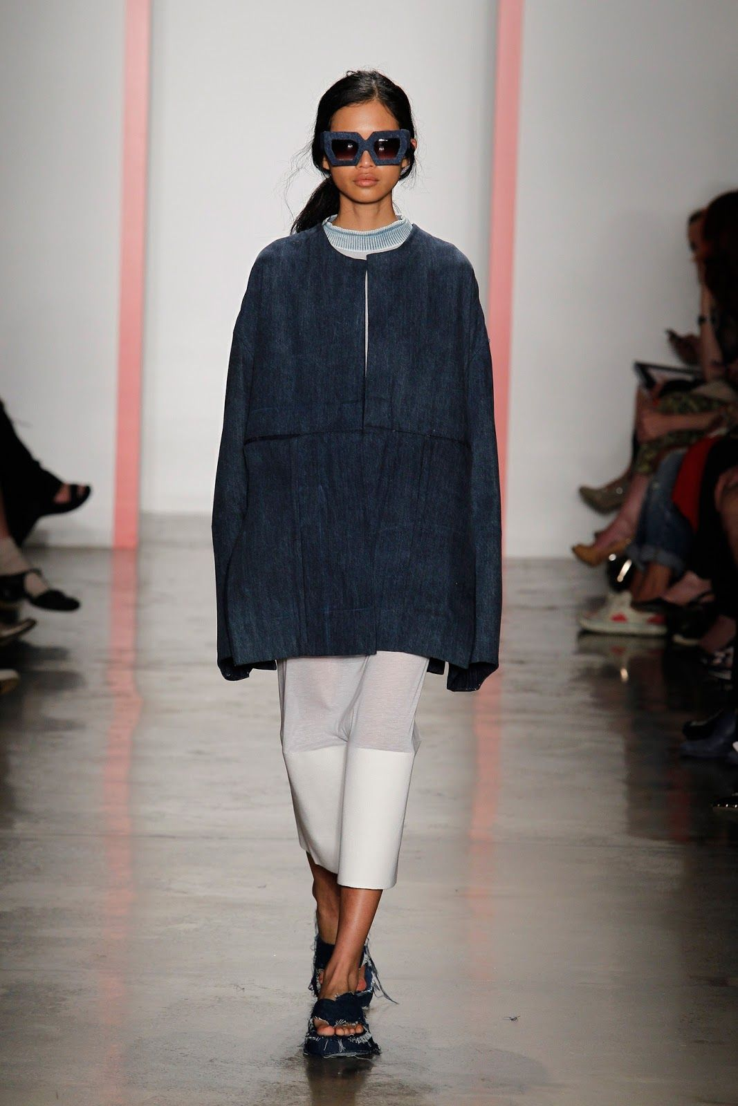 PARSONS THE NEW SCHOOL FOR DESIGN 2014 S/S COLLECTION RUNWAY SHOW