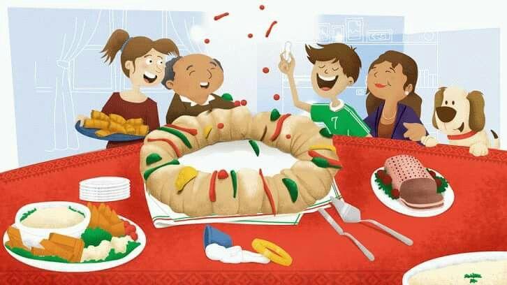 Pin En Rosca De Reyes