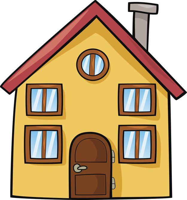 Casa De Dibujos Animados Dibujo De Casa Dibujos