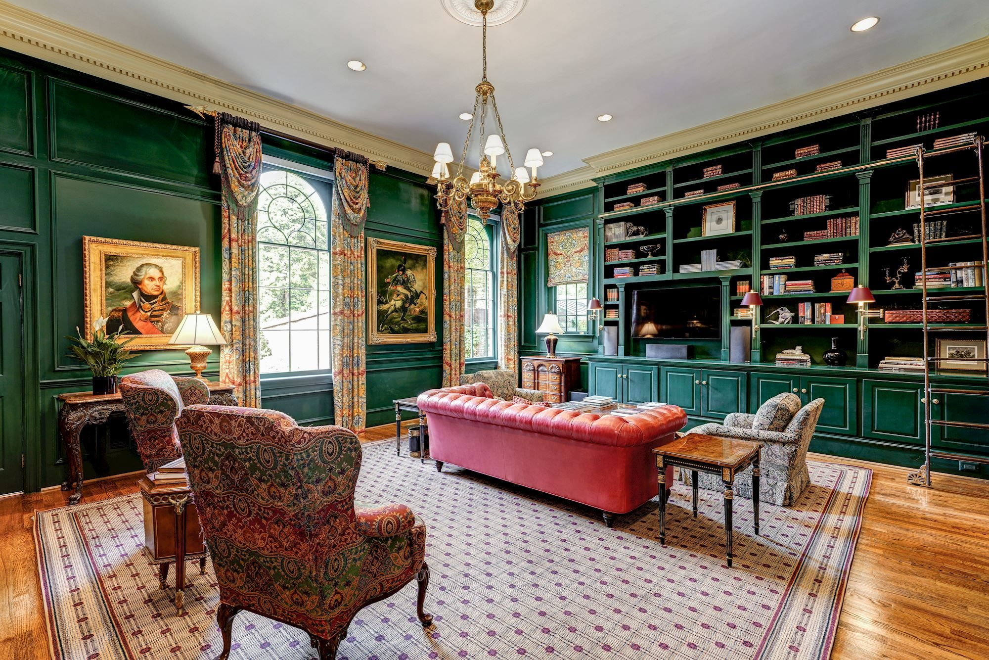 Washington Dc Home With Library Green Rooms Home Library Dc Living Green Rooms Foyer Design Home