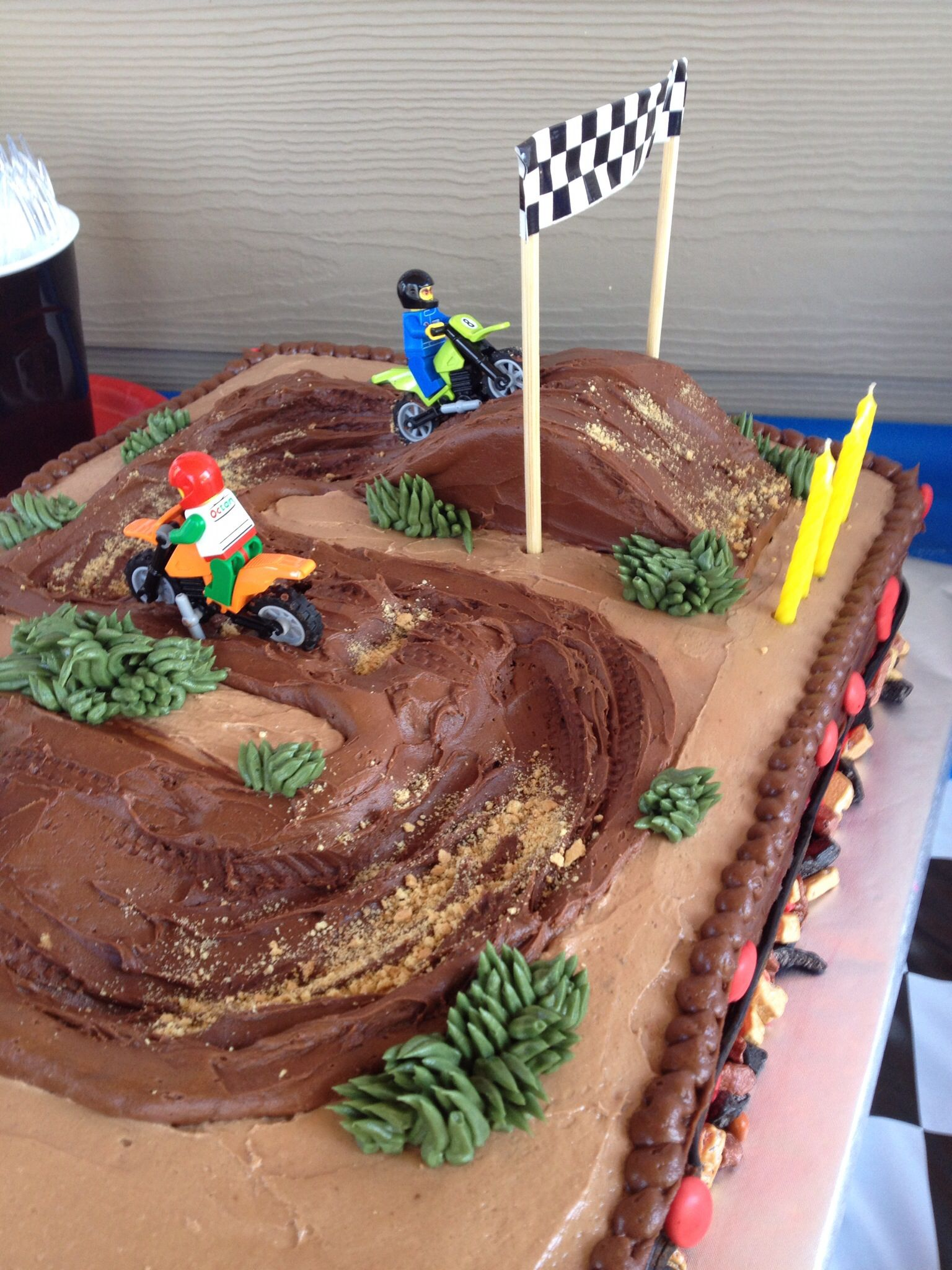 Motorcross Racing Theme for a 5 year Old Home Decor that I love