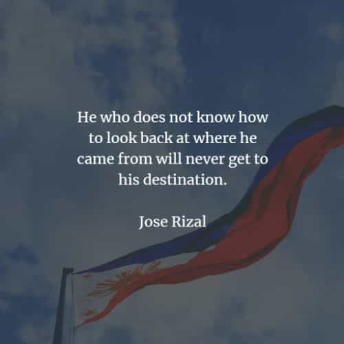 45 Famous quotes and sayings by Jose Rizal