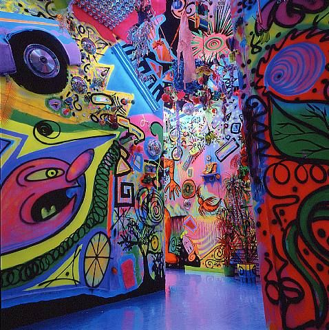 Kenny Scharf | Art, Les oeuvres