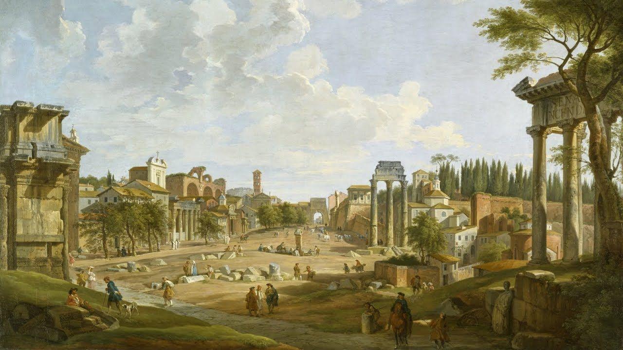 Fantasy Italian City Art