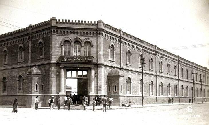 El edificio del supremo tribunal militar ubicado en for Residencia torres de la alameda
