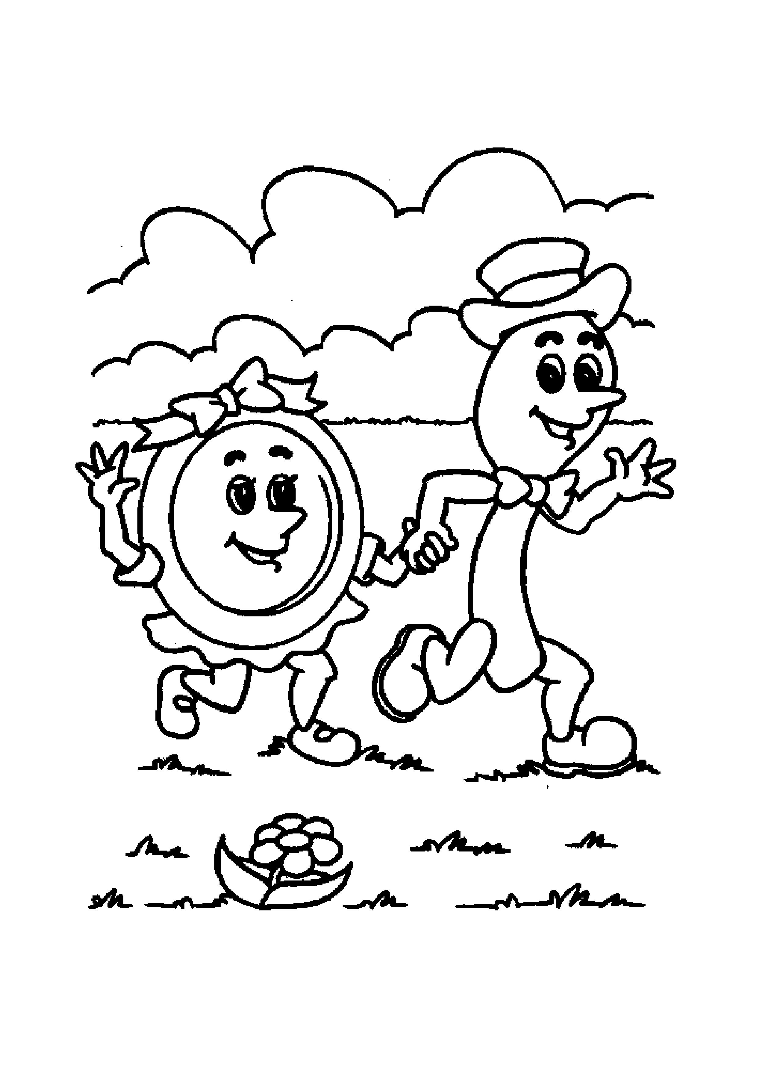 Nursery Rhymes Coloring Pages Coloring Pages