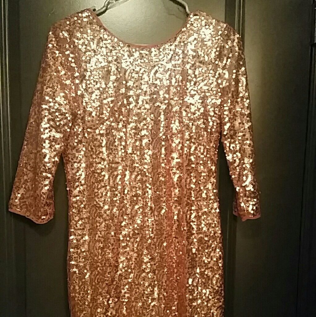 Rose gold sequin mini dress sequin mini dress and products