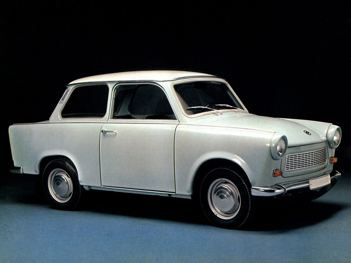 Trabant 601 - O 601 foi o terceiro modelo da Trabant e foi produzido de 1963 a 1990
