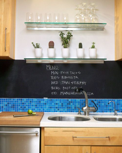 Chalk board paint above the backsplash #kitchen #ideas ... on memory jar craft, server ideas, memory box, motivational theme ideas, windowless office ideas, remembrance ideas, building ideas, fan ideas, memory lane, apartment marketing ideas, memory boards at target, daily huddle ideas, display ideas, creative apartment leasing ideas, wall of fame ideas, memory trees for funerals, store ideas, memory boards for funerals, diy business ideas, magnet ideas,