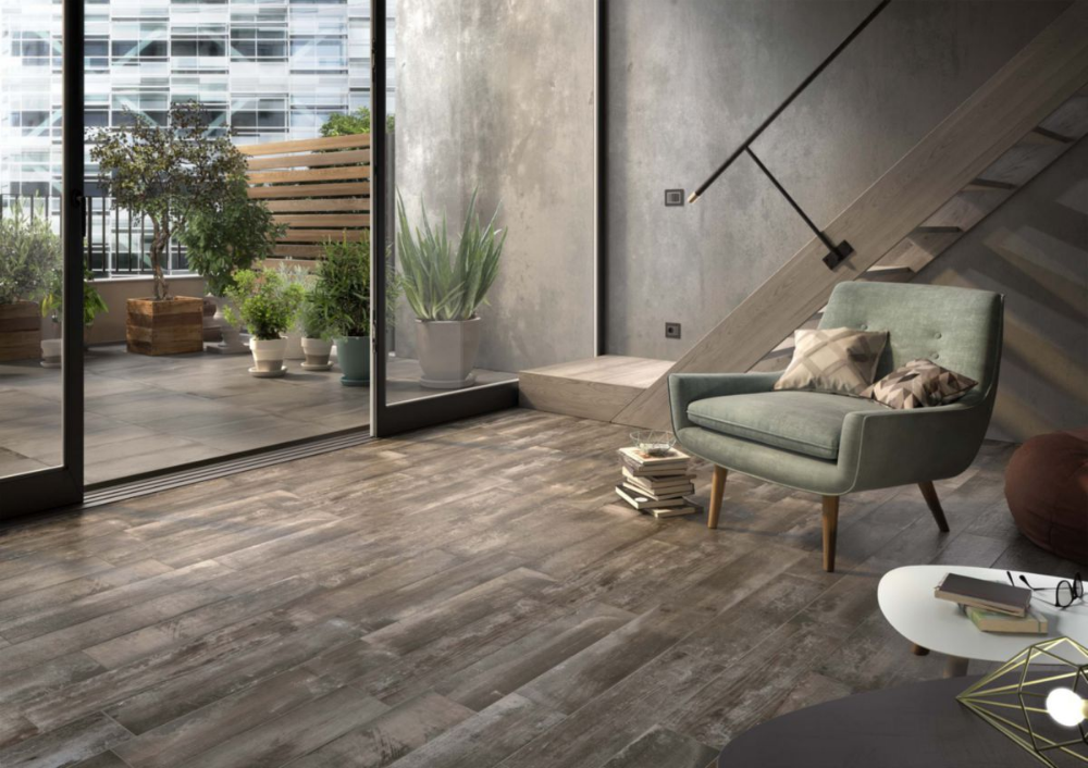 Imola Carrelage Sol Interieur Gres Cerame Riverside Marron 15x60 Cm Point P En 2020 Carrelage Sol Interieur Carreau De Porcelaine Amenagement Interieur