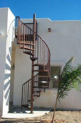 Best Spiral Staircase Escaleras Exteriores Escaleras 400 x 300