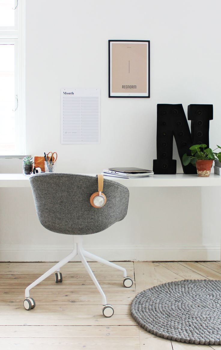 home office desk work Minimal Workspace | workspace inspiration | home office
