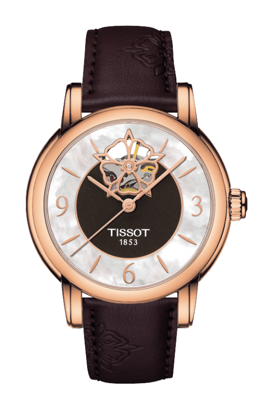 Official Tissot Website - Watches - T-Classic - TISSOT LADY HEART AUTOMATIC - T0502073711704