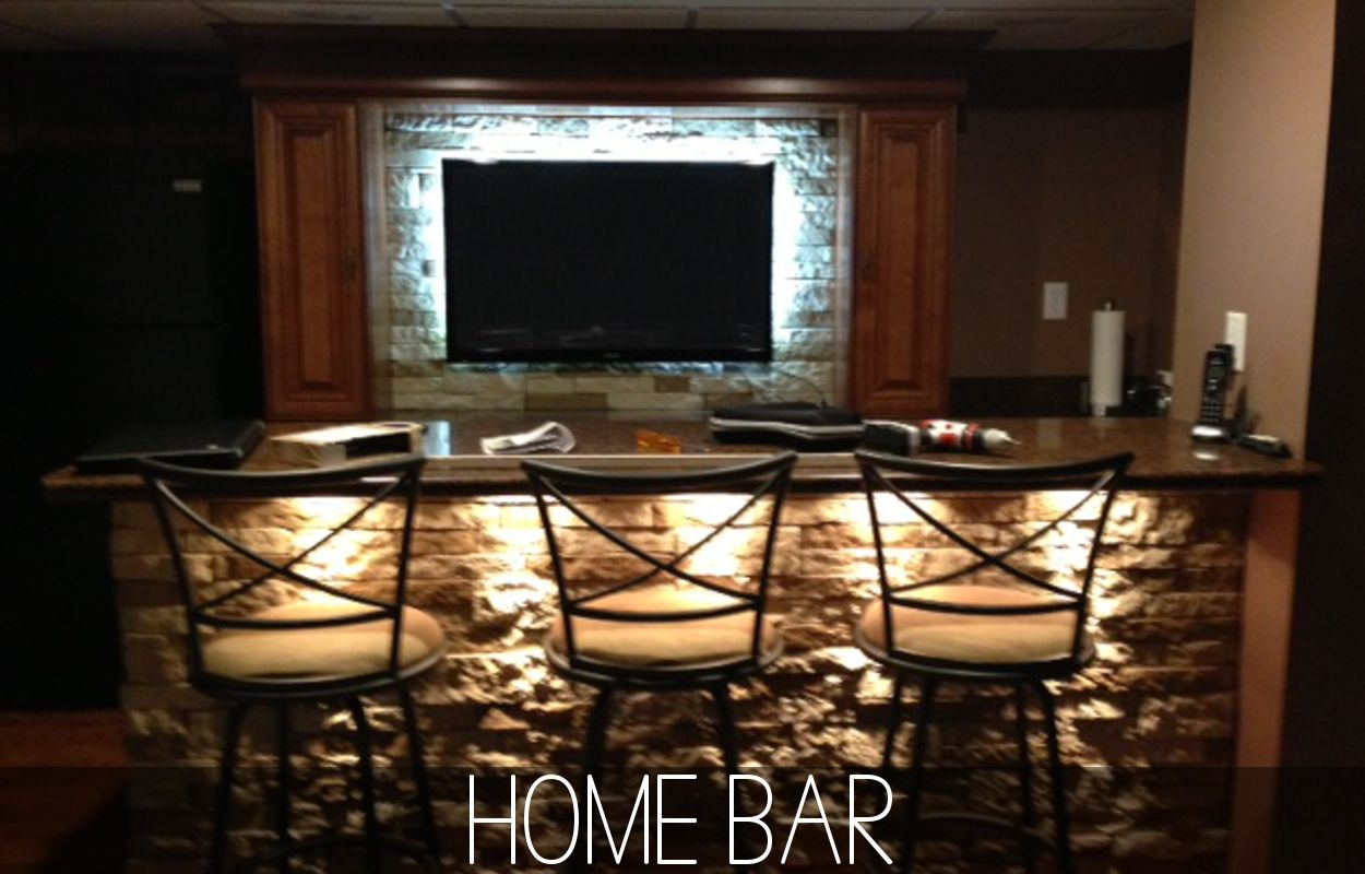 Led Lighting For The Home Bar This Fall Decor Bars