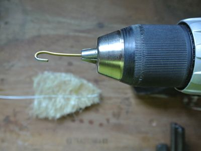 """Tutorial to make bottle brush trees from """"sisal rope""""   Thank you, thank you for sharing. Using the drill OMG, genius! I am gaagaa over these trees... xoxo"""