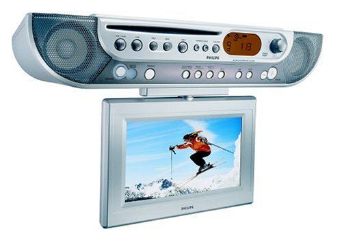 Philips Ajl700 Under Cabinet Lcd Tv Dvd Combo