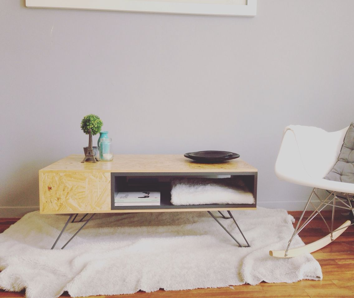 Street cast coffee table by bohemian bourgeois osb