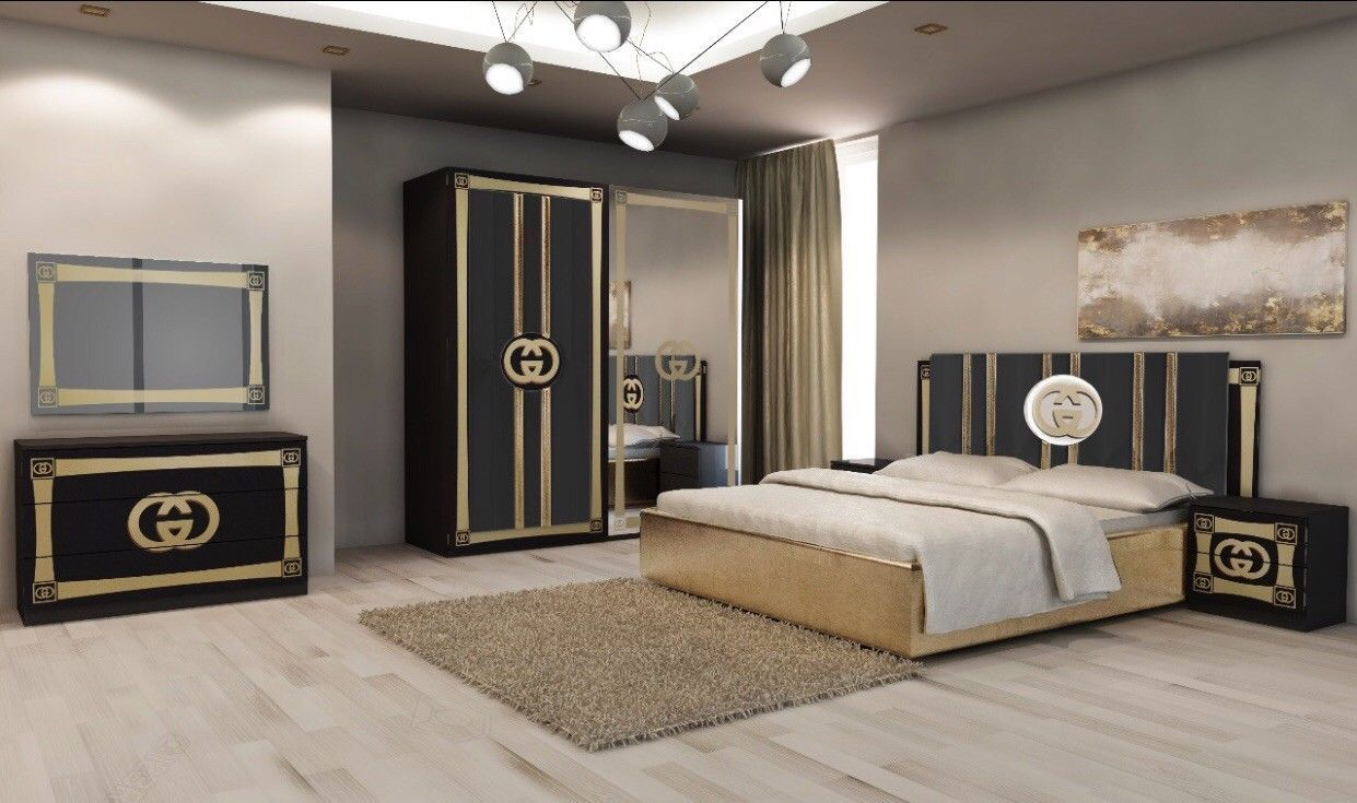 Luxurious Italian Gucci Bedroom Set Rrp 2399 Our Price Only 1475 Ebay Luxuryitalianbedrooms Italian Bedroom Sets Bedroom Set Italian Bedroom