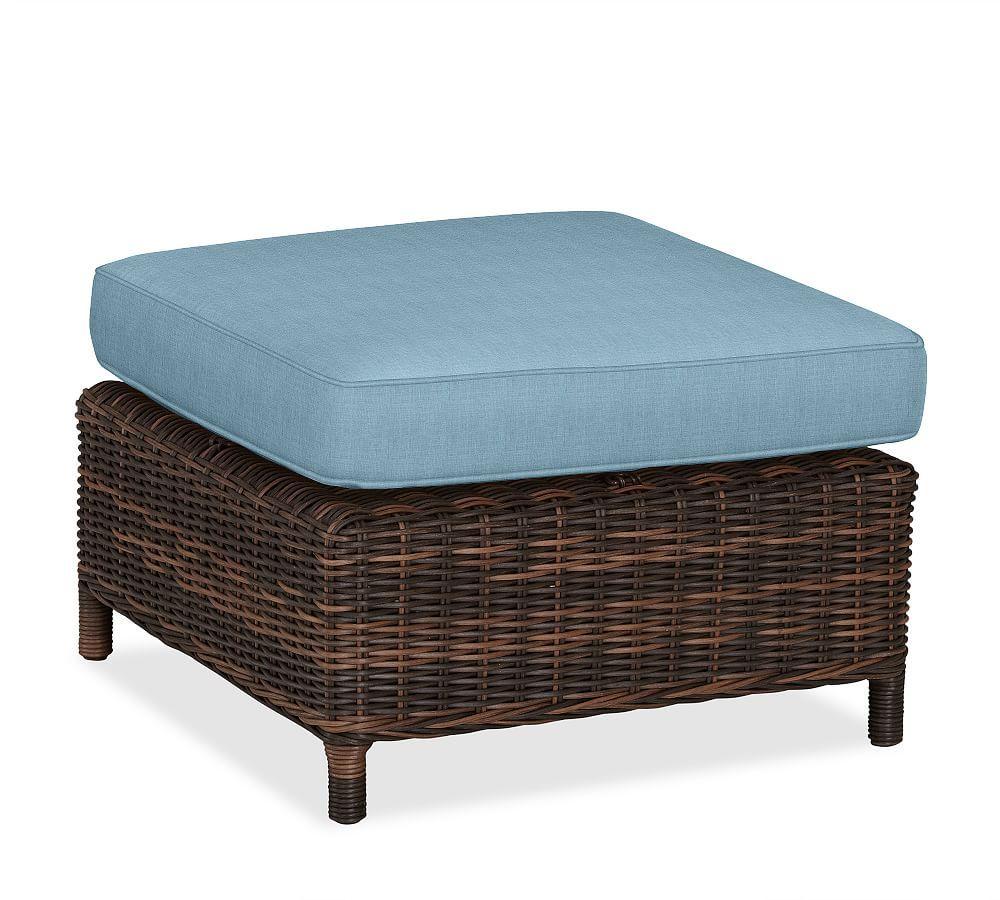 Torrey Sunbrella Outdoor Furniture Cushion Slipcovers Sunbrella Outdoor Furniture Sectional Ottoman Wicker Ottoman