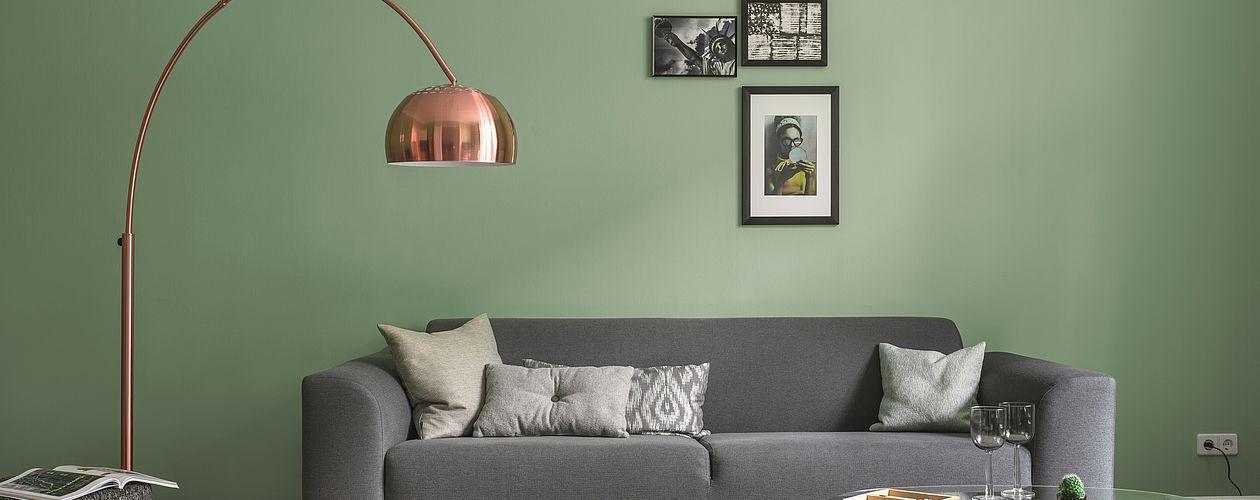 Artikel Farbe Kuchenfront Pinterest Alpina Farben Farbwirkung