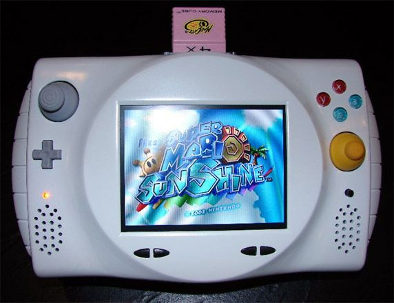 The Ncube Probably The Best Portable Gamecube Of All Time Video Gamecube Handheld Video Games Gaming Gifts