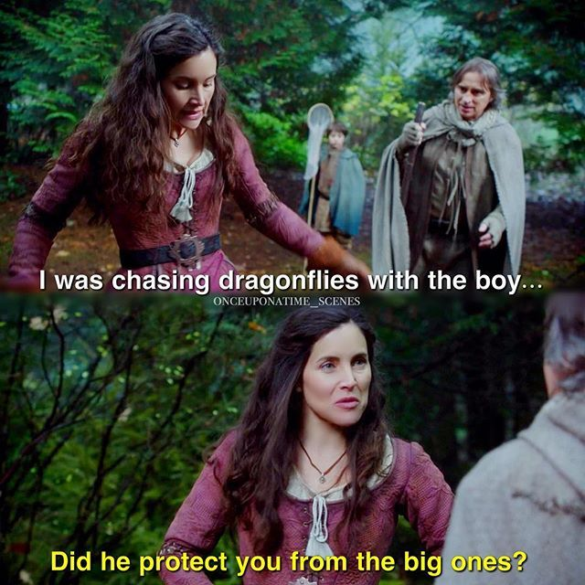 Milah is the true 5 star bitch of ouat though let's be honest {5.14}