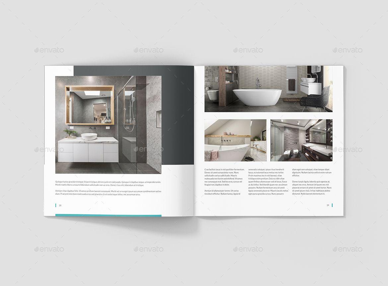 interios interior design square brochure corporate design rh pinterest com au