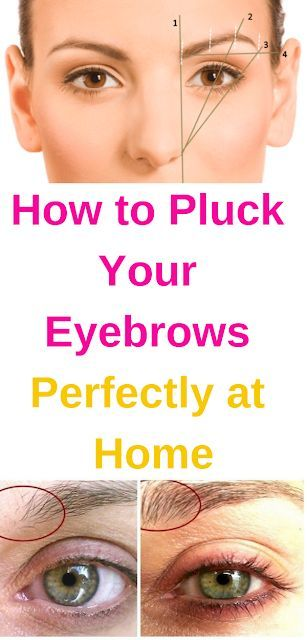 How to Pluck Your Eyebrows Perfectly at Home (With images ...