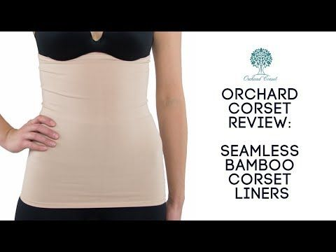 Orchard Corset Seamless Bamboo Corset Liner to Protect Skin and Corsets