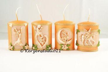Kerzen-Set Elfen