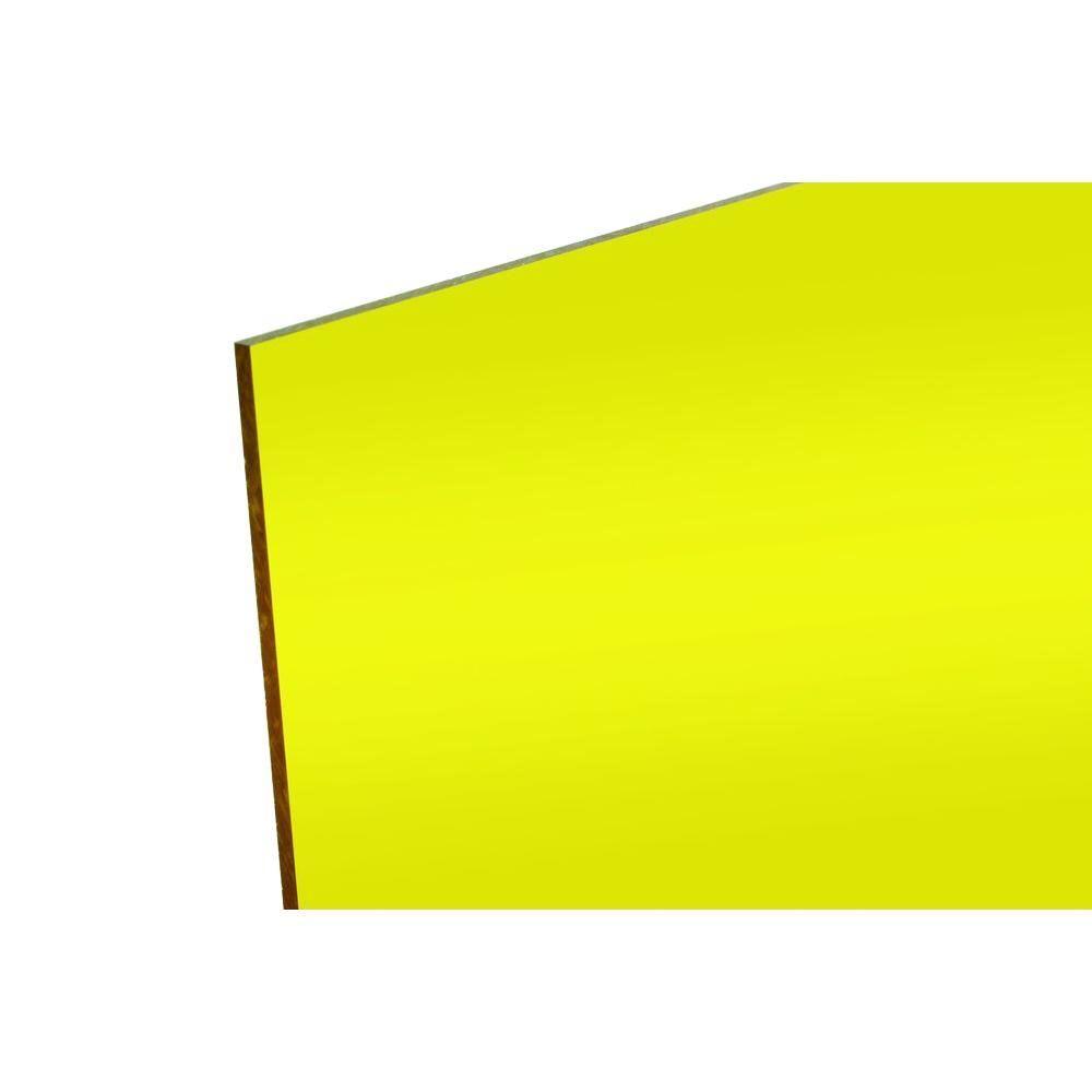 Fabback 48 In X 96 In X 118 In Yellow Acrylic Mirror Acrylic Mirror Yellow Mirrors Black Acrylic Sheet